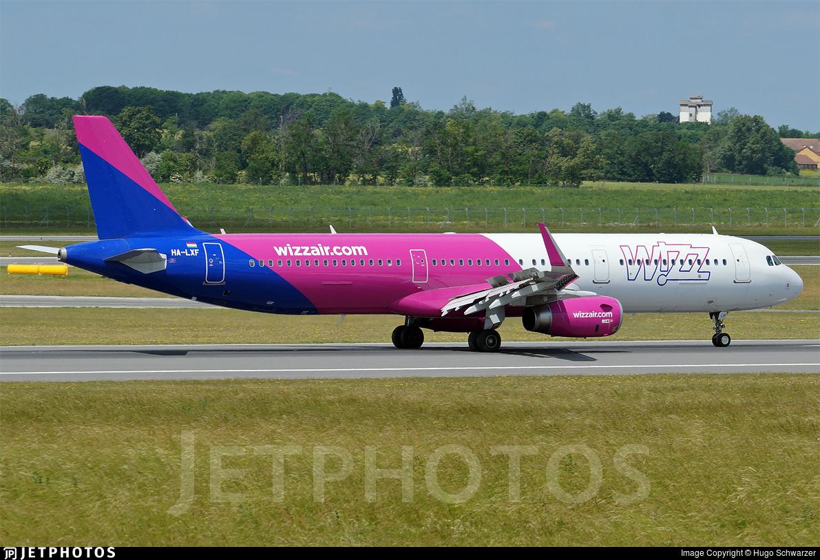 HA-LXF - Airbus A321-231 - Wizz Air