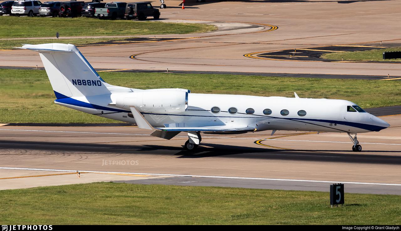N888ND - Gulfstream G450 - Private