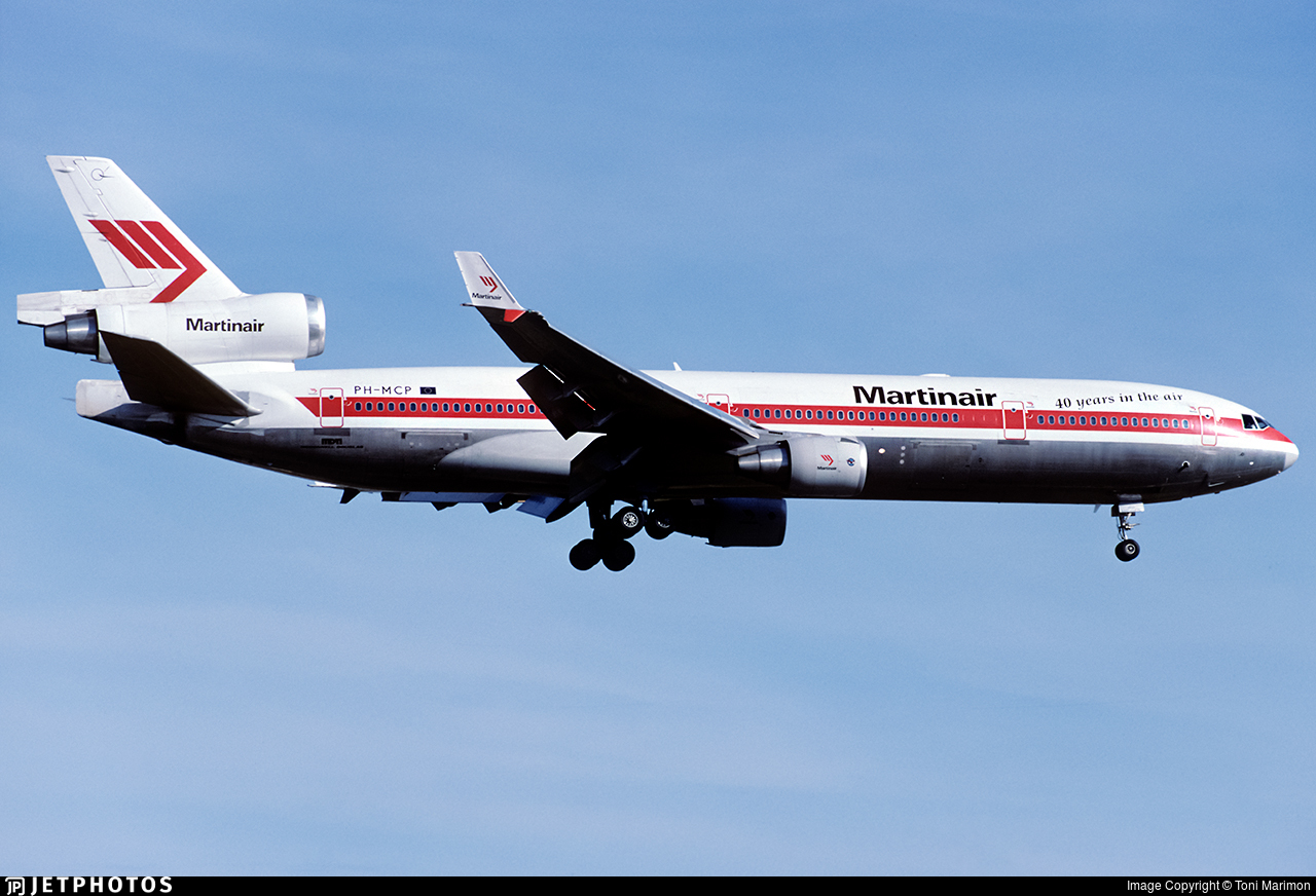 PH-MCP - McDonnell Douglas MD-11 - Martinair