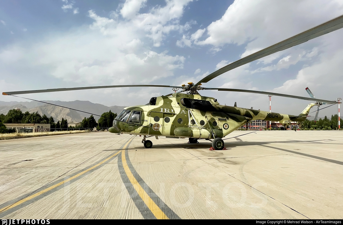 1804 - Mil Mi-171Sh Baikal - Iran - Police Aviation