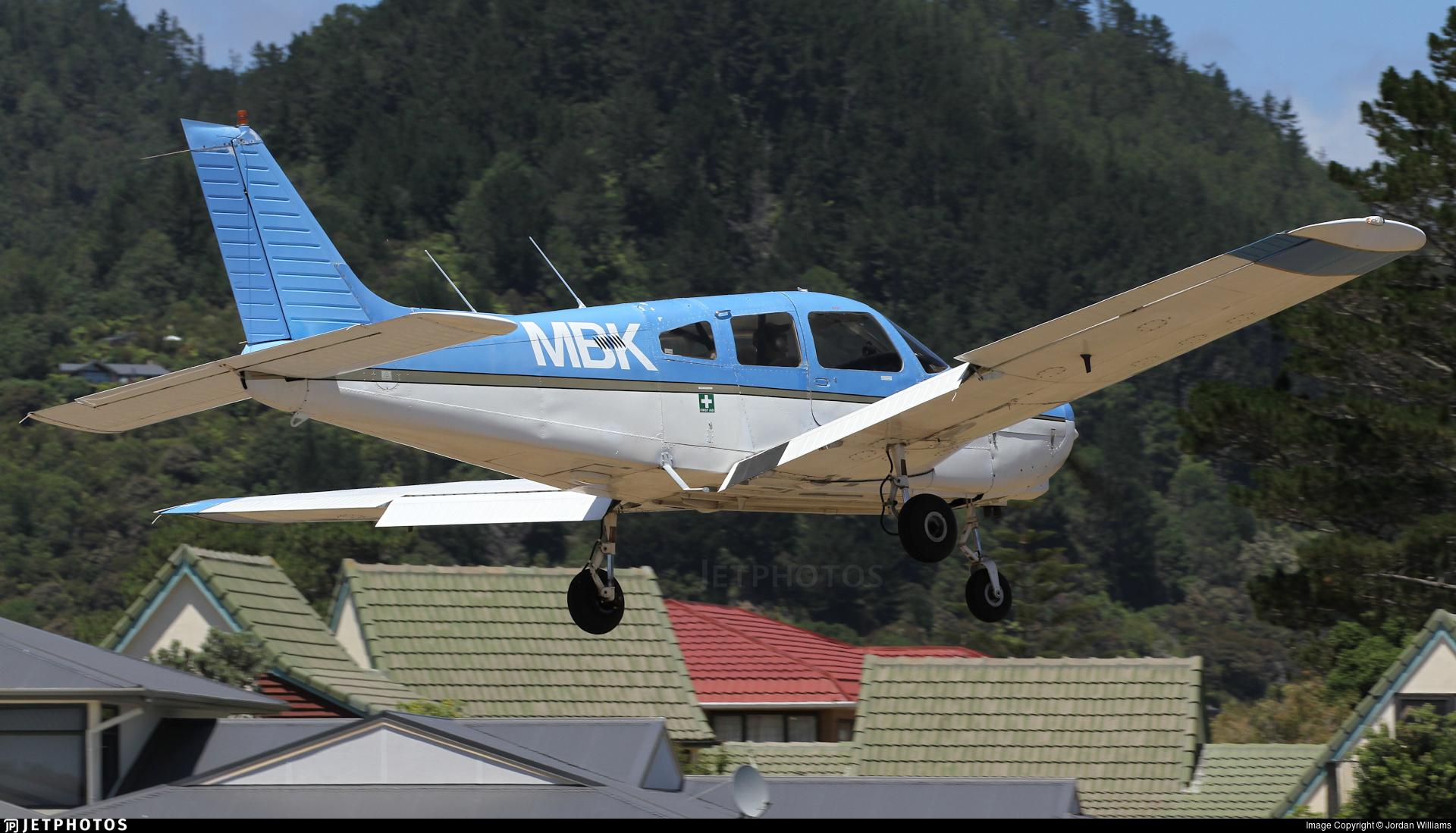 ZK-MBK - Piper PA-28-161 Warrior II - Private