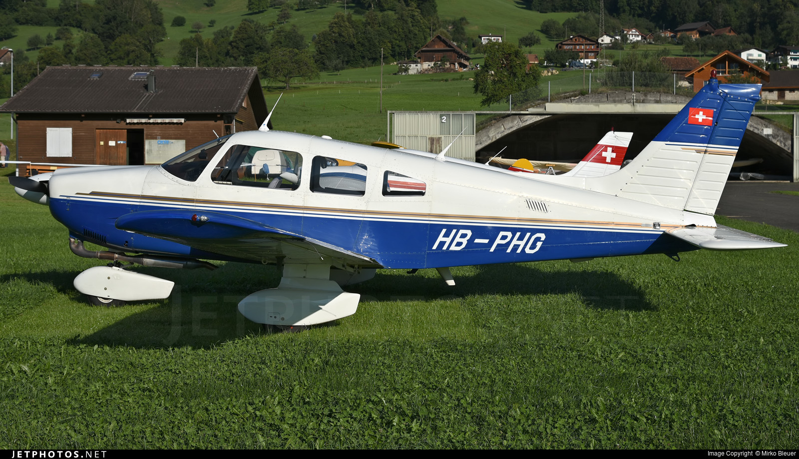 HB-PHG - Piper PA-28-181 Archer II - Flubag Flugbetriebs