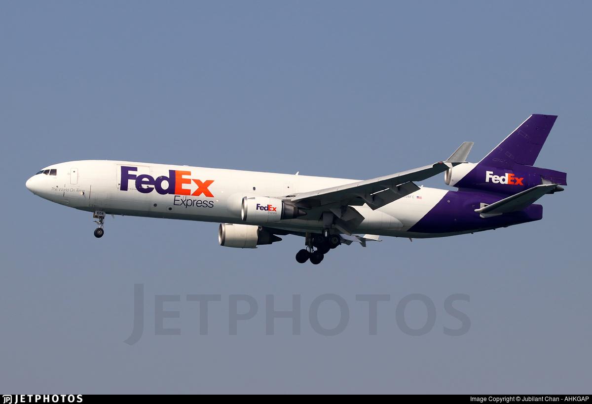 N608FE - McDonnell Douglas MD-11(F) - FedEx