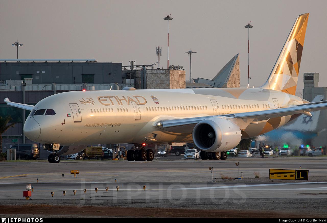 A6-BLL - Boeing 787-9 Dreamliner - Etihad Airways