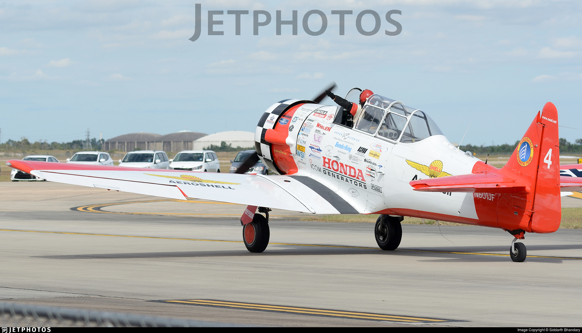 N601JF - North American AT-6C Texan - Aeroshell Aerobatic Team
