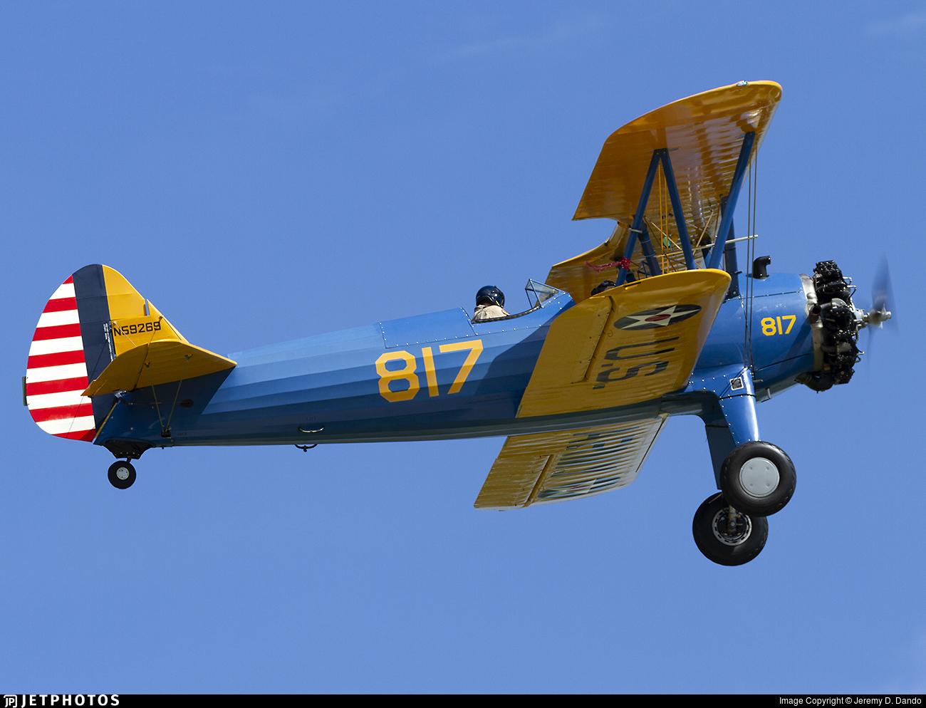 N59269 - Boeing A-75L300 - Private
