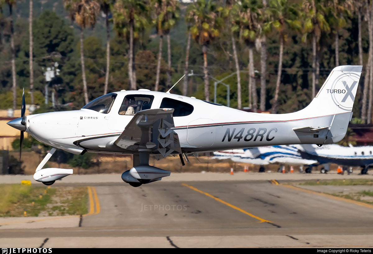 N48RC - Cirrus SR22-X Turbo - Private