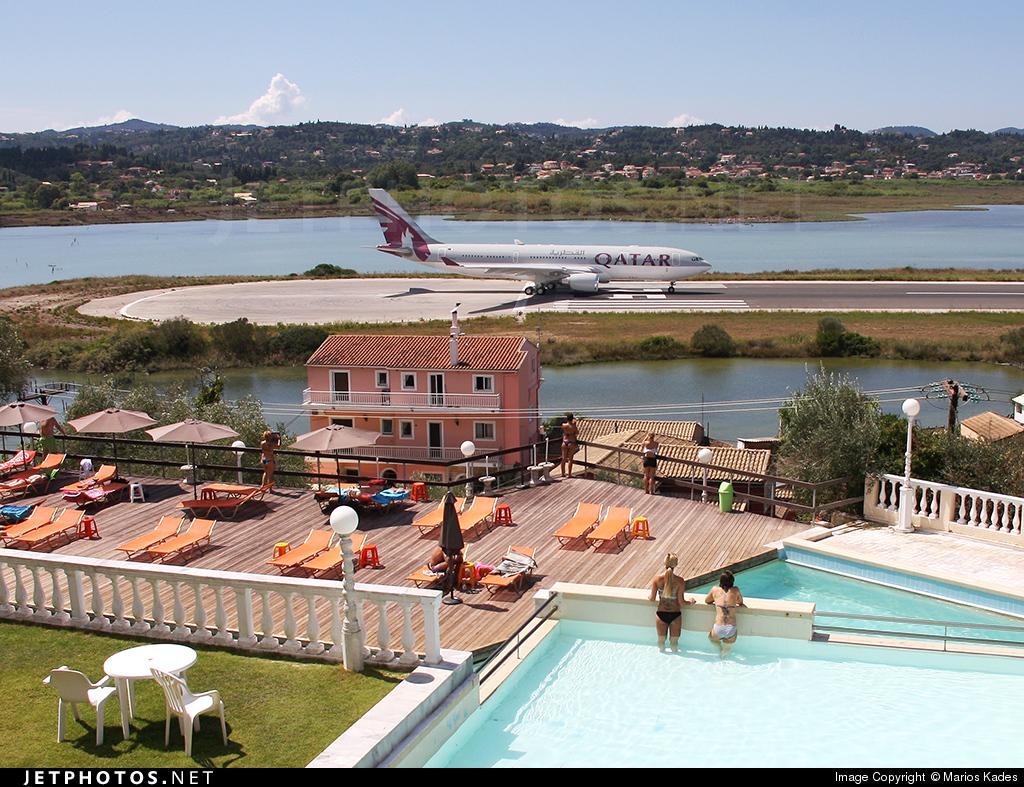 LGKR - Airport - Spotting Location