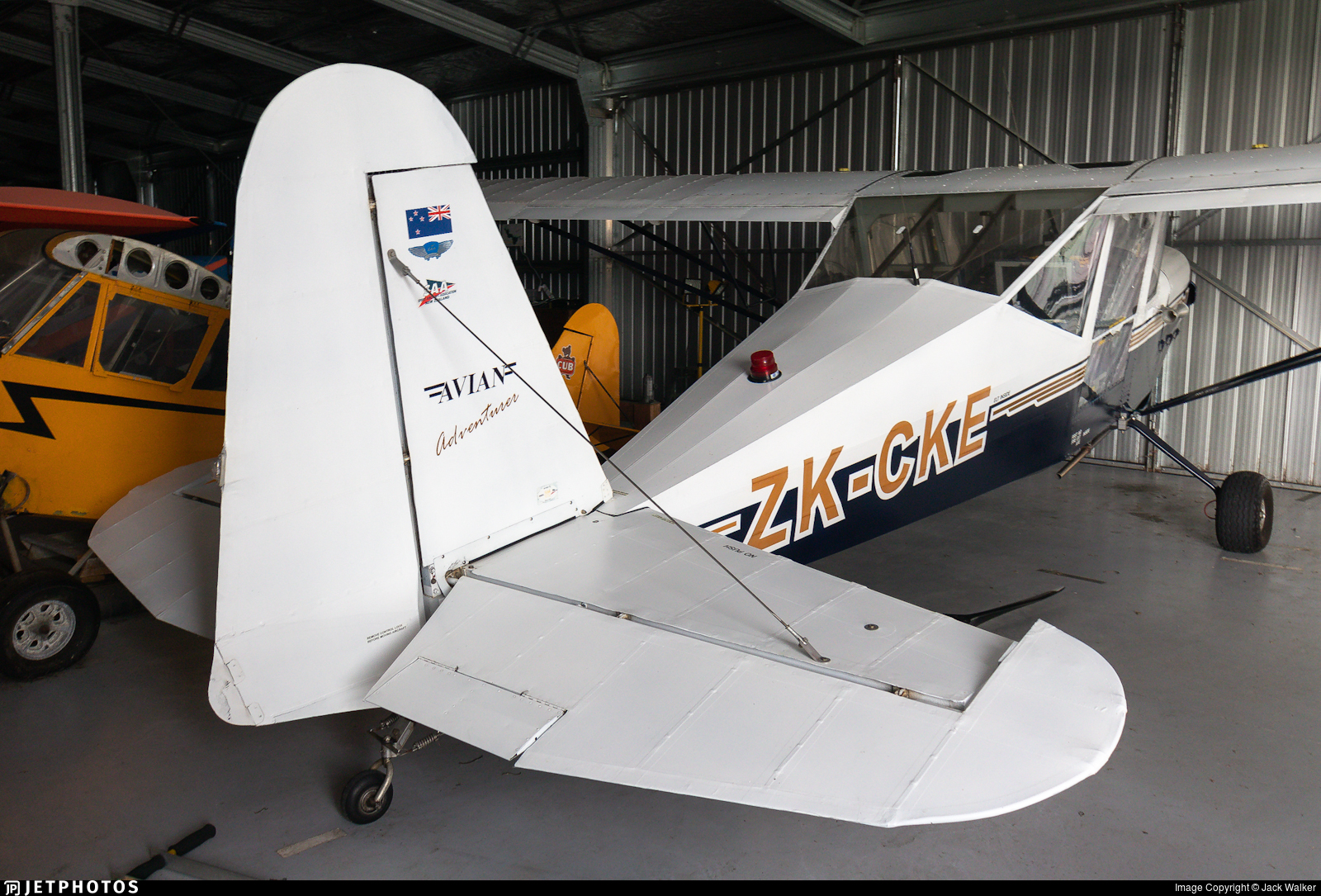 ZK-CKE - Piper L-4J Cub - Private
