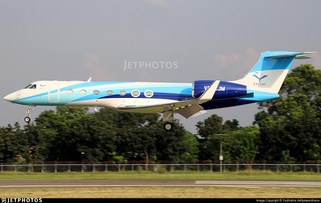 VP-CJM - Gulfstream G550 - Premiair
