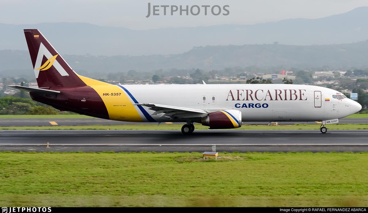 HK-5357 - Boeing 737-4K5(SF) - Aer Caribe