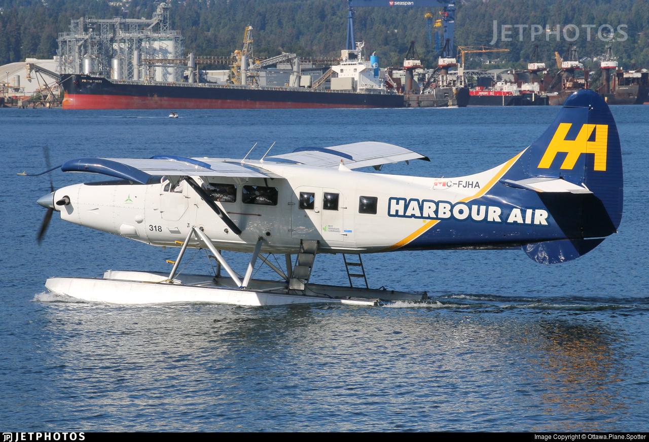 C-FJHA - De Havilland Canada DHC-3T Vazar Turbine Otter - Harbour Air