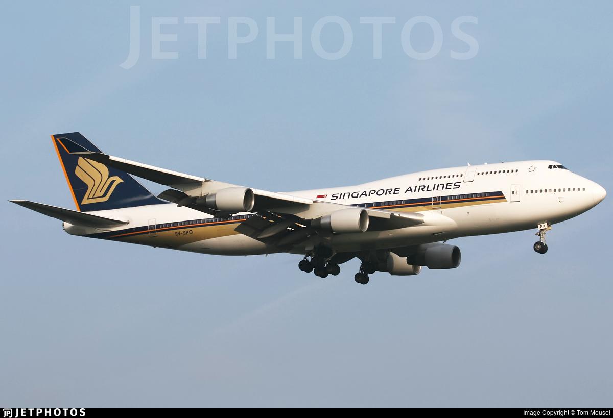 9V-SPO - Boeing 747-412 - Singapore Airlines