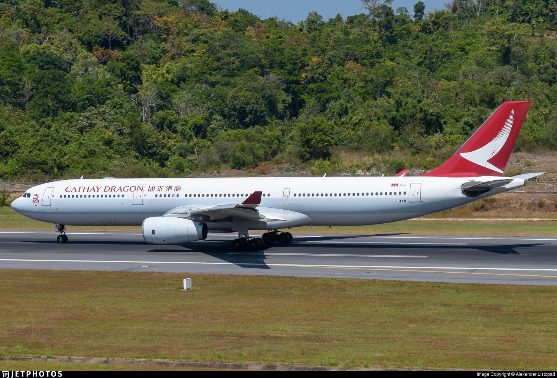 B-HWM - Airbus A330-343 - Cathay Dragon