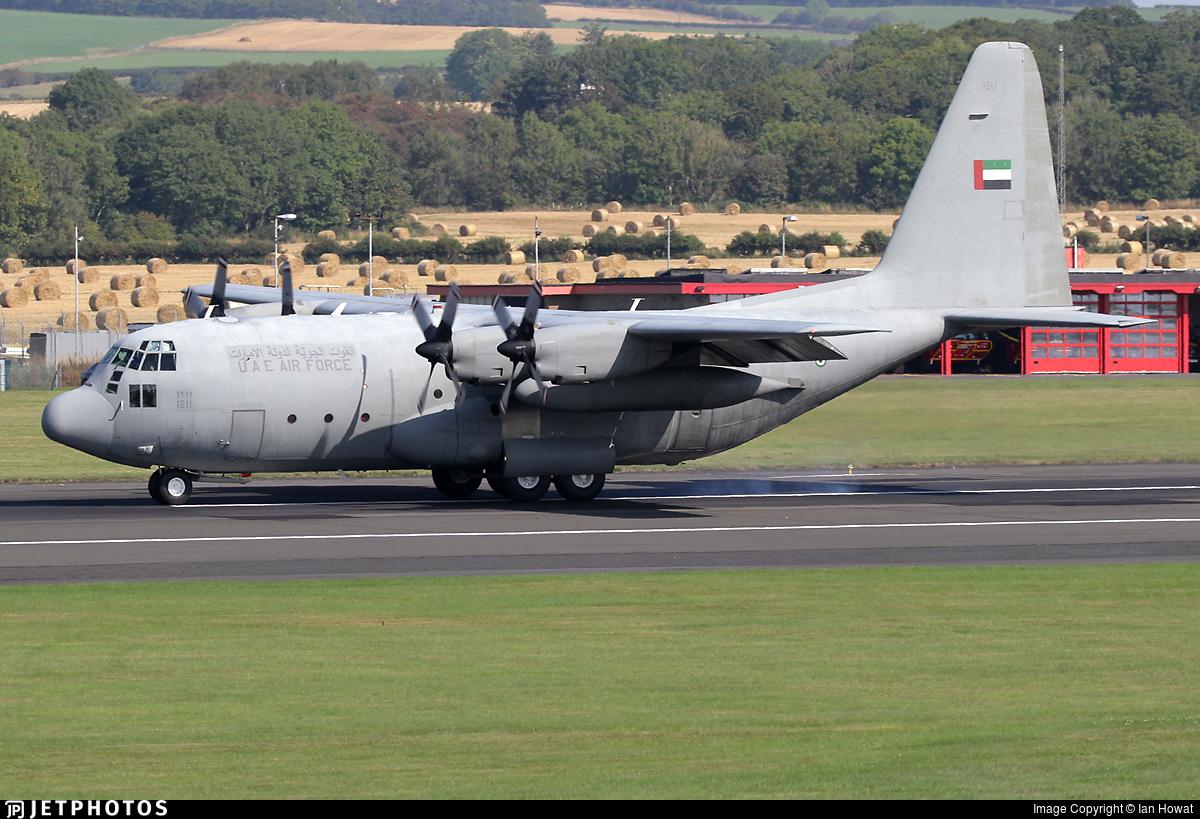 1211 - Lockheed C-130H Hercules - United Arab Emirates - Air Force