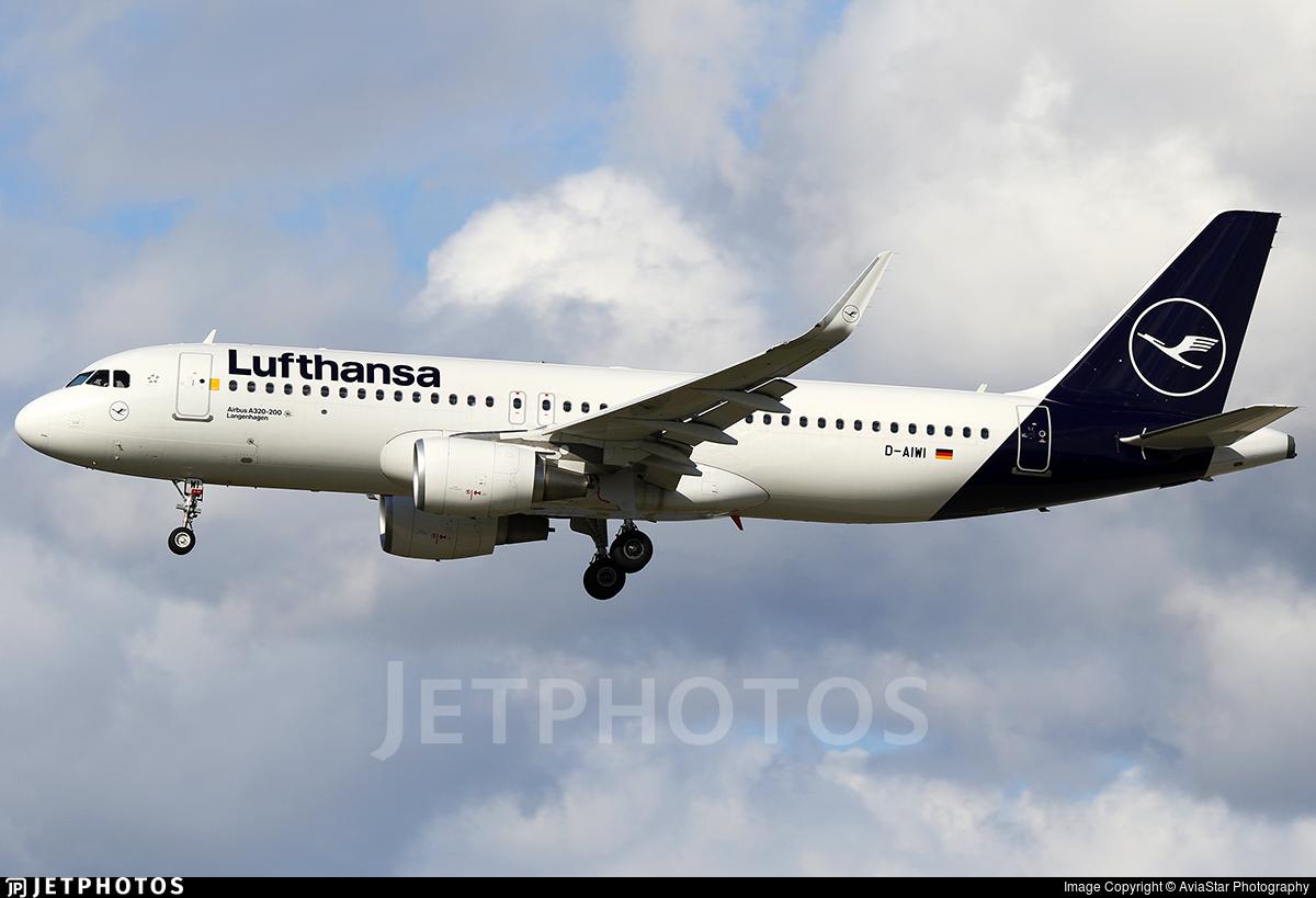 D-AIWI - Airbus A320-214 - Lufthansa