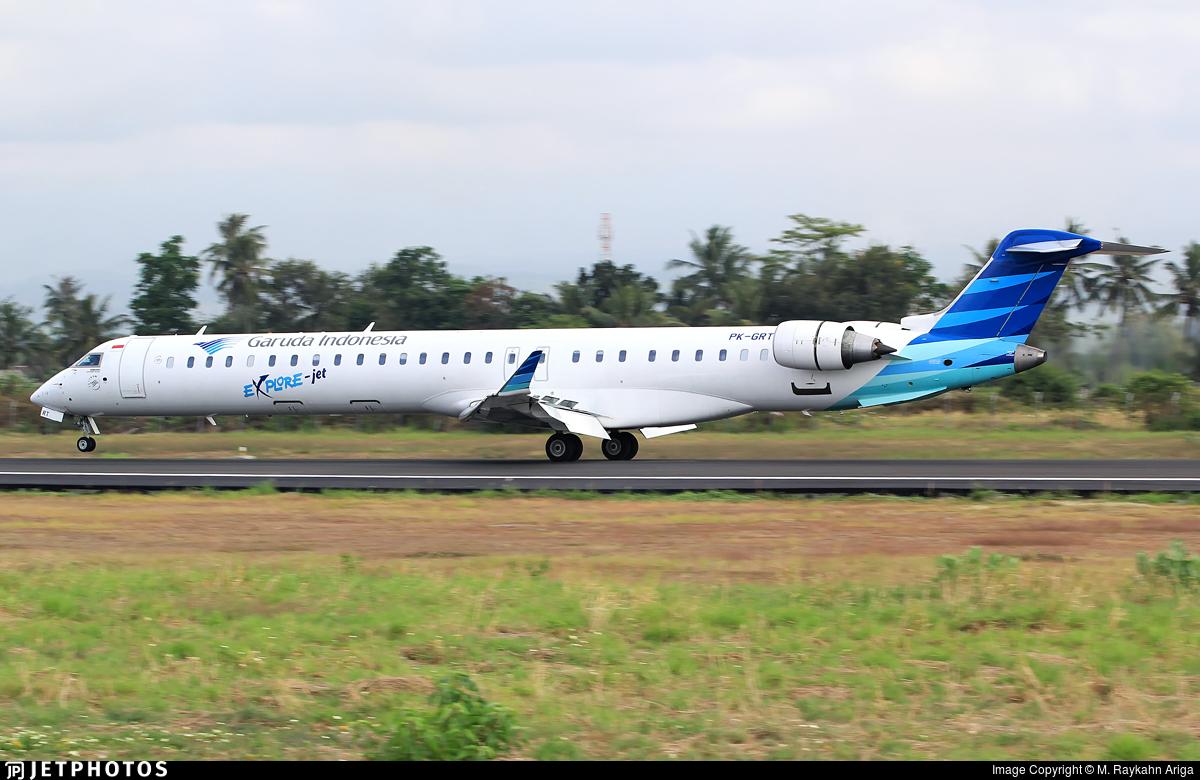 PK-GRT - Bombardier CRJ-1000ER - Garuda Indonesia Explore Jet
