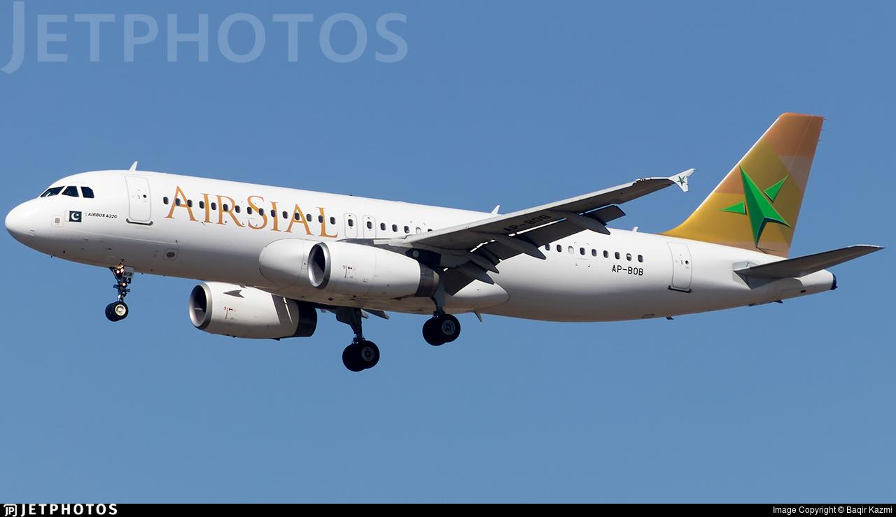 AP-BOB - Airbus A320-233 - Air Sial
