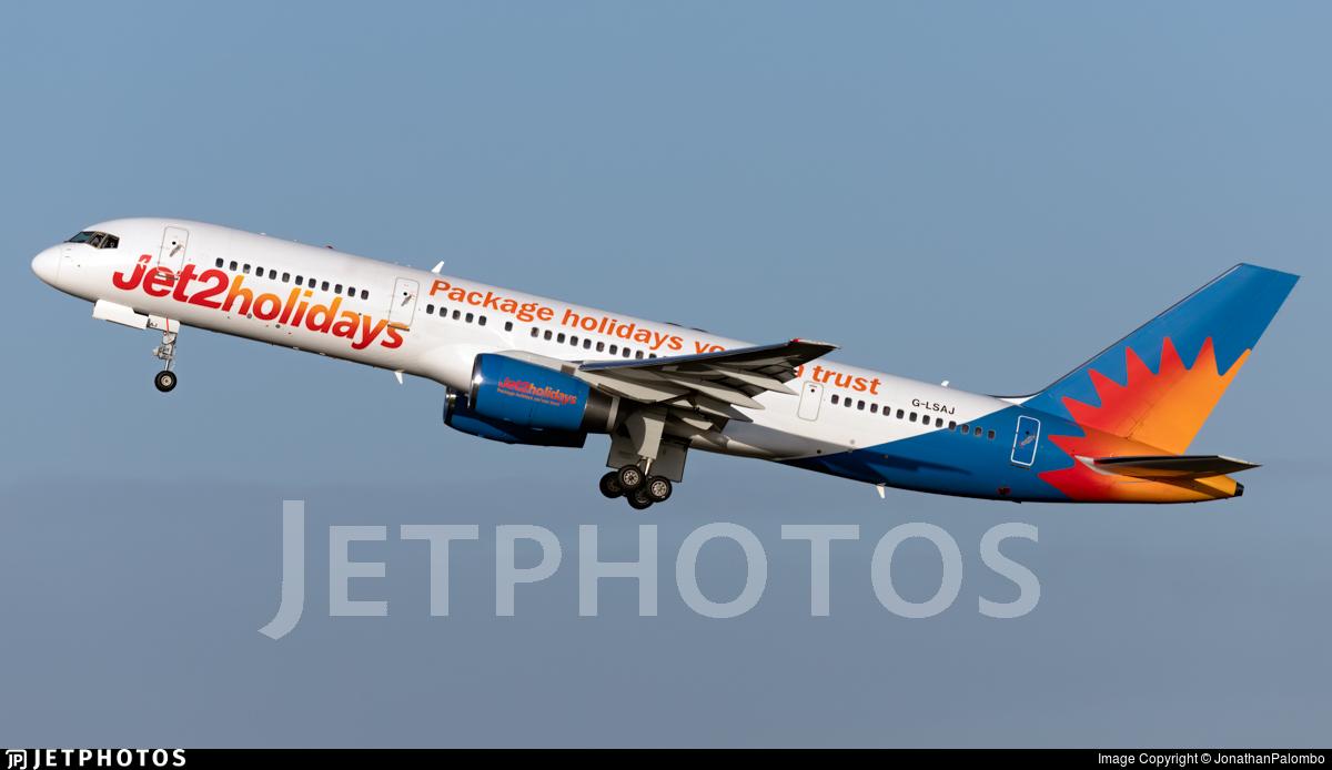 G-LSAJ - Boeing 757-236 - Jet2.com