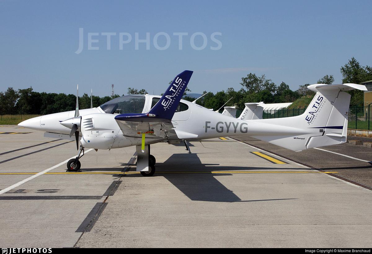 F-GYYG | Diamond DA-42 NG Twin Star | European Aero Training