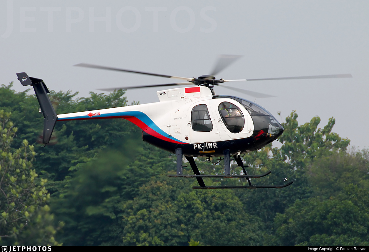 PK-IWR - Hughes 369E (500E) - Intan Perkasa Air Service