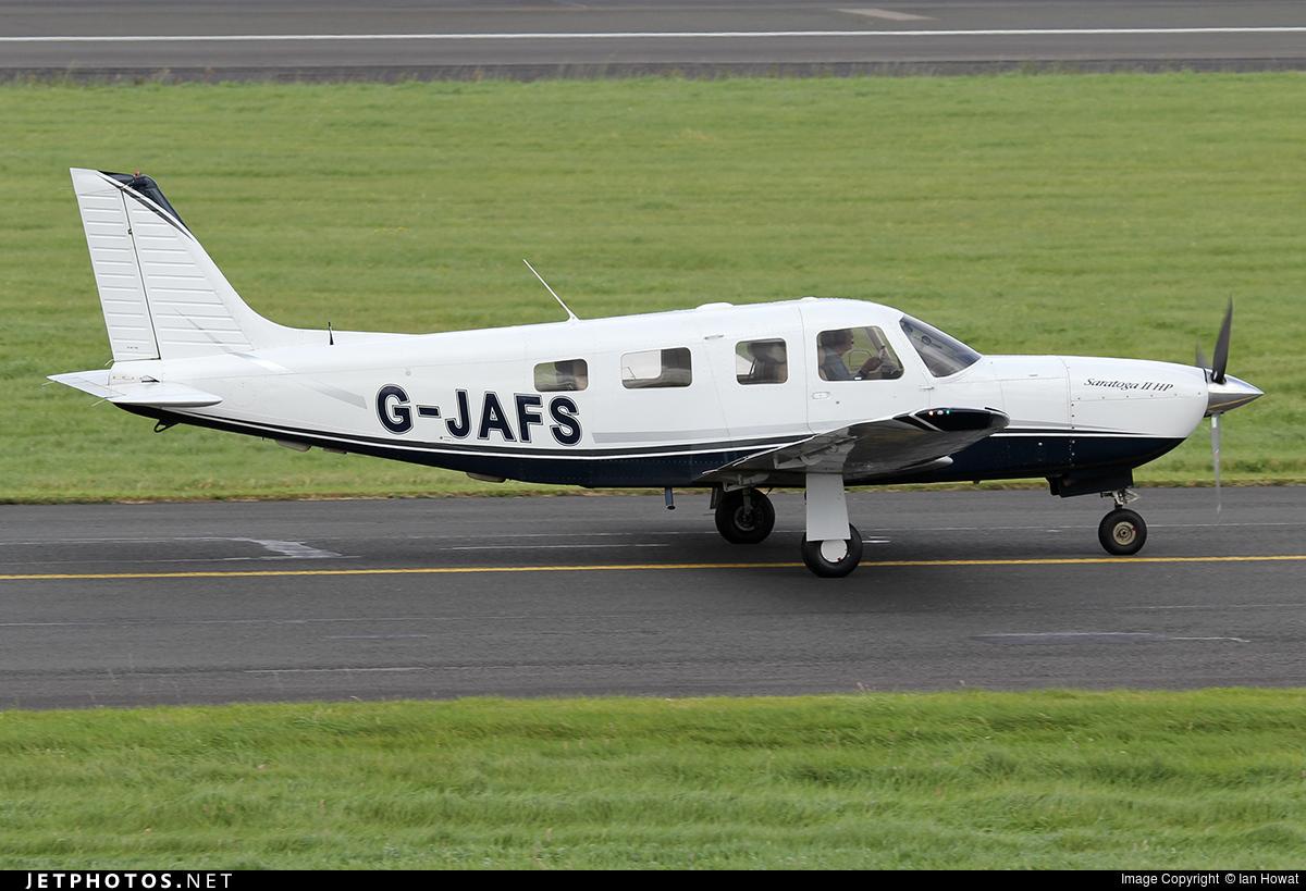 G-JAFS - Piper PA-32R-301 Saratoga II HP - Private