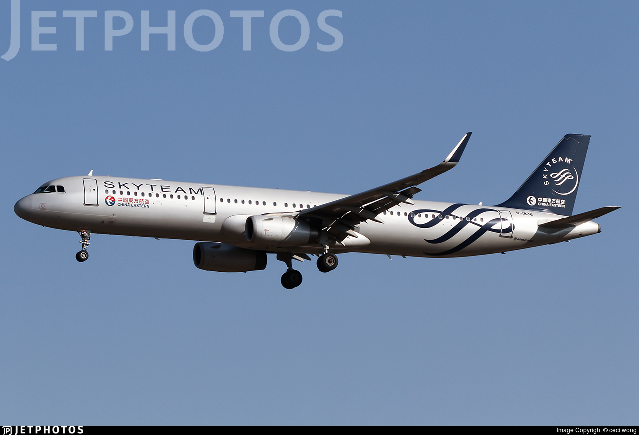 B-1838 - Airbus A321-231 - China Eastern Airlines