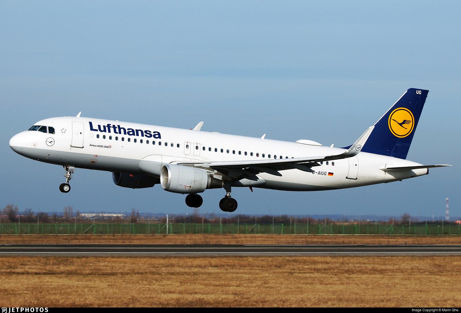 D-AIUG - Airbus A320-214 - Lufthansa