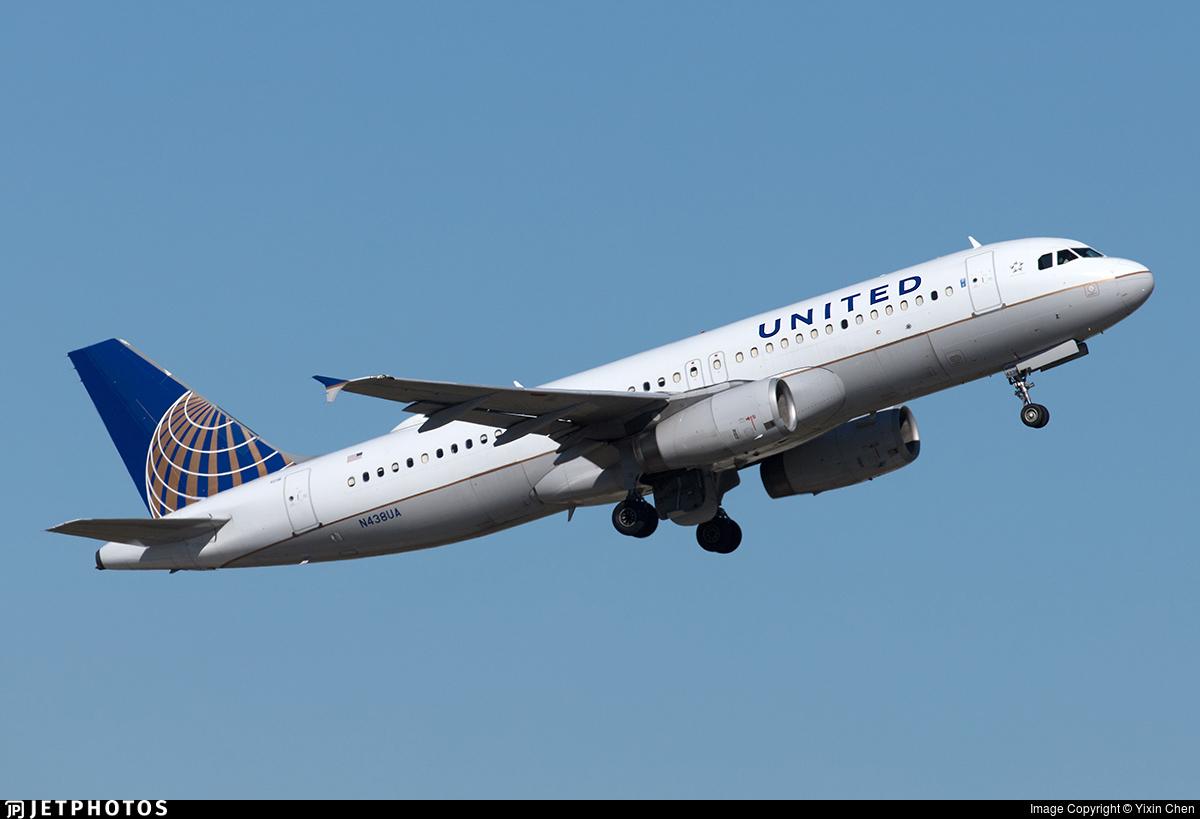 N438UA - Airbus A320-232 - United Airlines