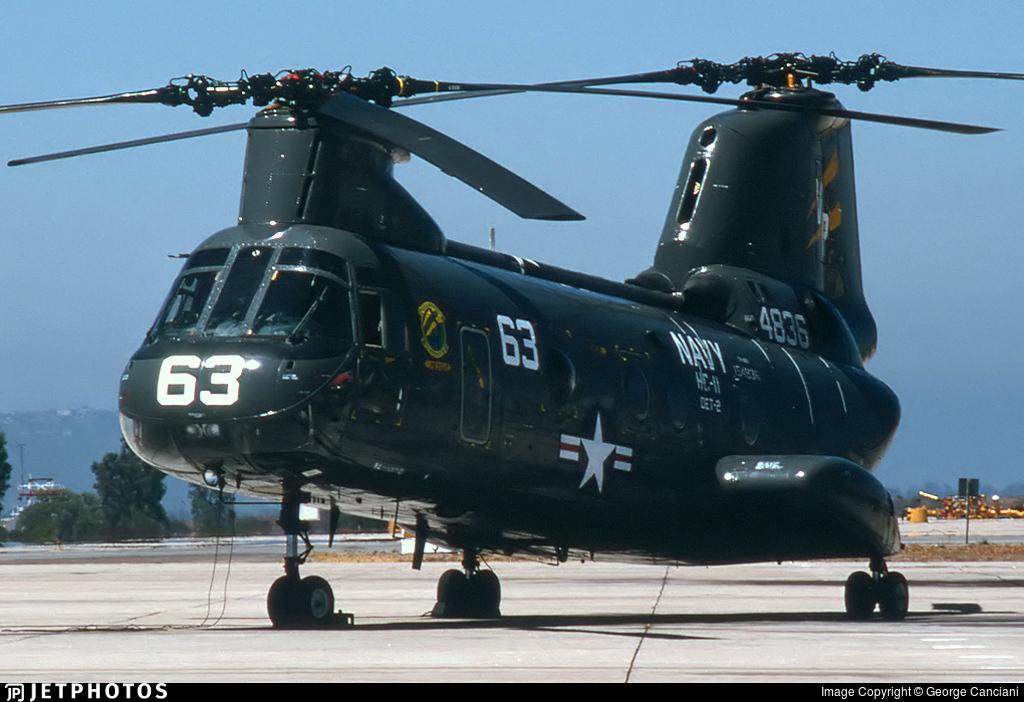 154836 - Boeing Vertol CH-46E Sea Knight - United States - US Navy (USN)