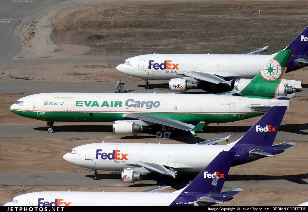 B-16109 - McDonnell Douglas MD-11(F) - Eva Air Cargo