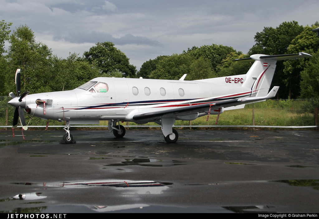 OE-EPC - Pilatus PC-12 - Diamond Aircraft Industries