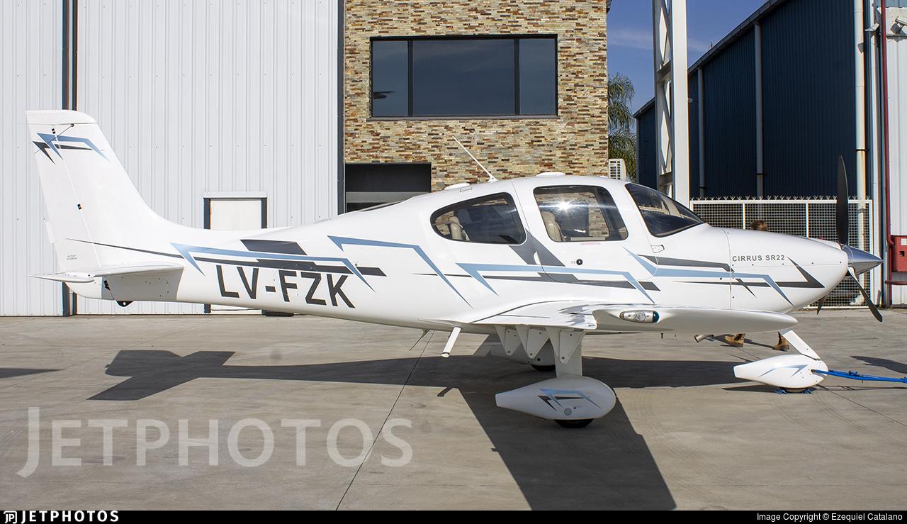 LV-FZK - Cirrus SR22 G2 - Private