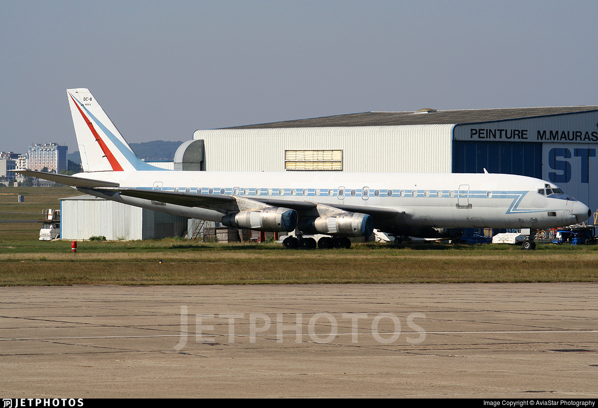 45819 - Douglas DC-8-55(F) - France - Air Force
