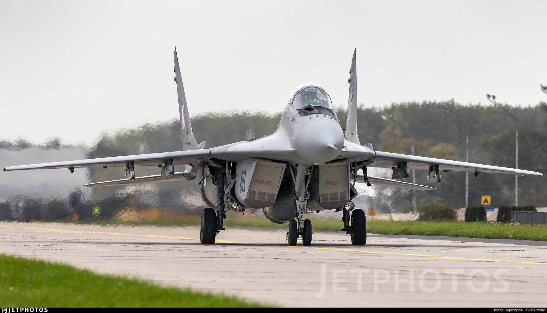 89 - Mikoyan-Gurevich MiG-29A Fulcrum A - Poland - Air Force