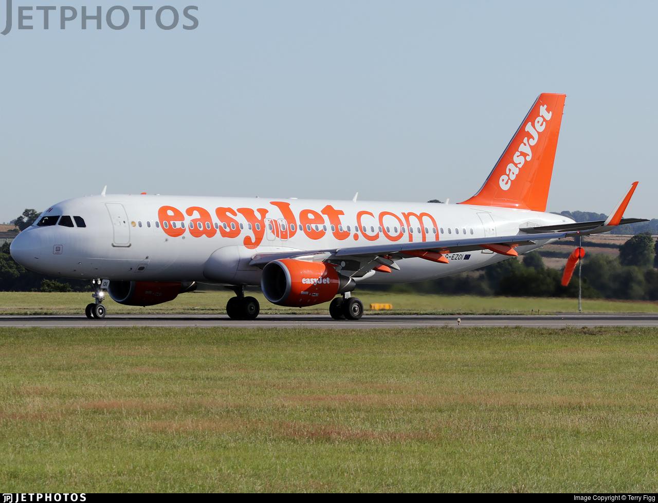 G-EZOI - Airbus A320-214 - easyJet