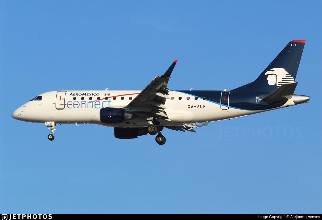 XA-ALK - Embraer 170-100LR - Aeromexico Connect
