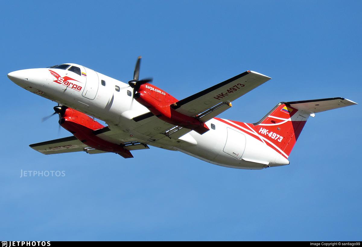 HK-4973 - Embraer EMB-120ER Brasília -  SARPA - Servicios Aereos Panamericanos Colombia