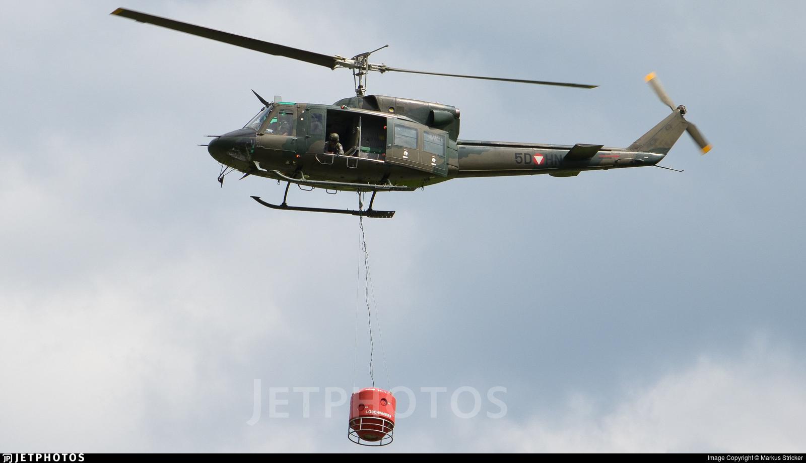 5D-HN - Agusta-Bell AB-212AM - Austria - Air Force