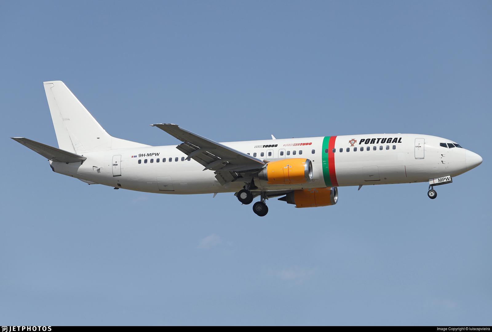 9H-MPW - Boeing 737-484 - Air Horizont