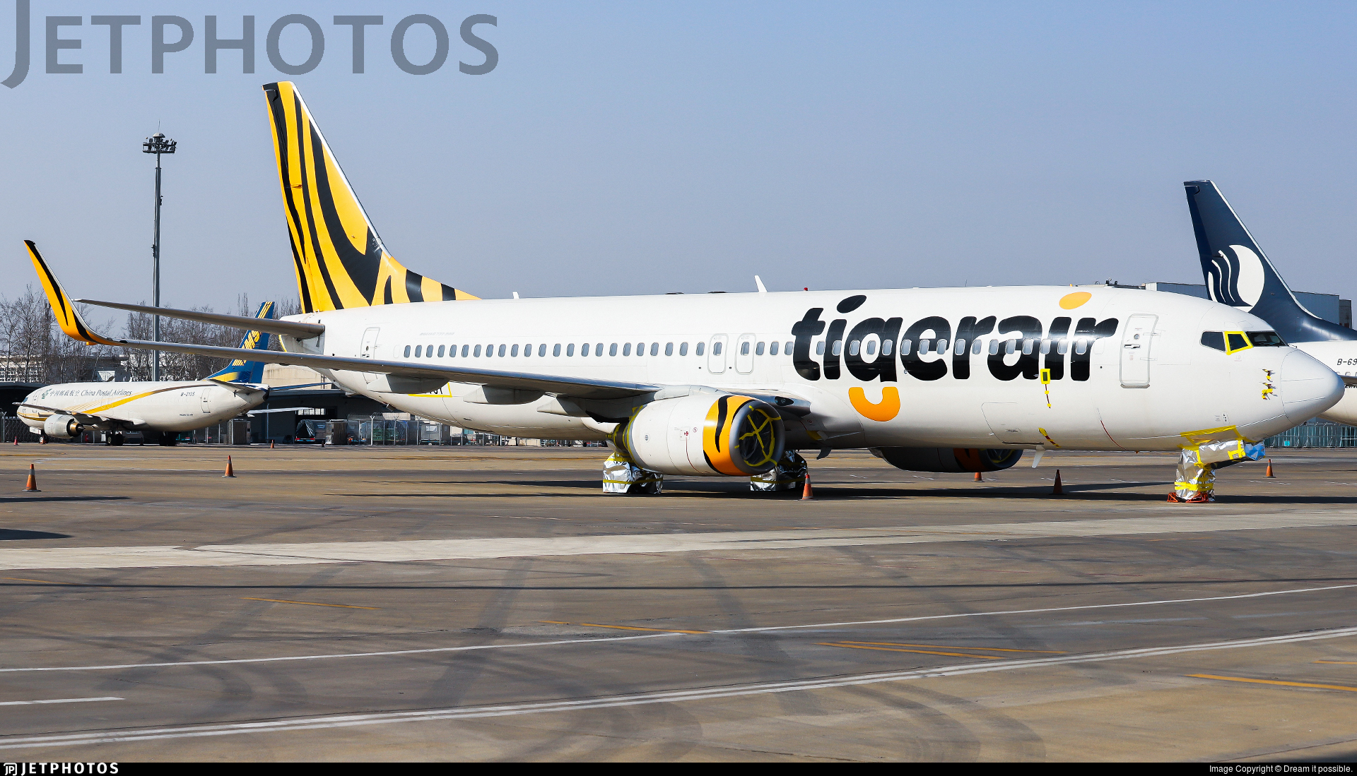 2-VVOY - Boeing 737-8FE - Tigerair Australia