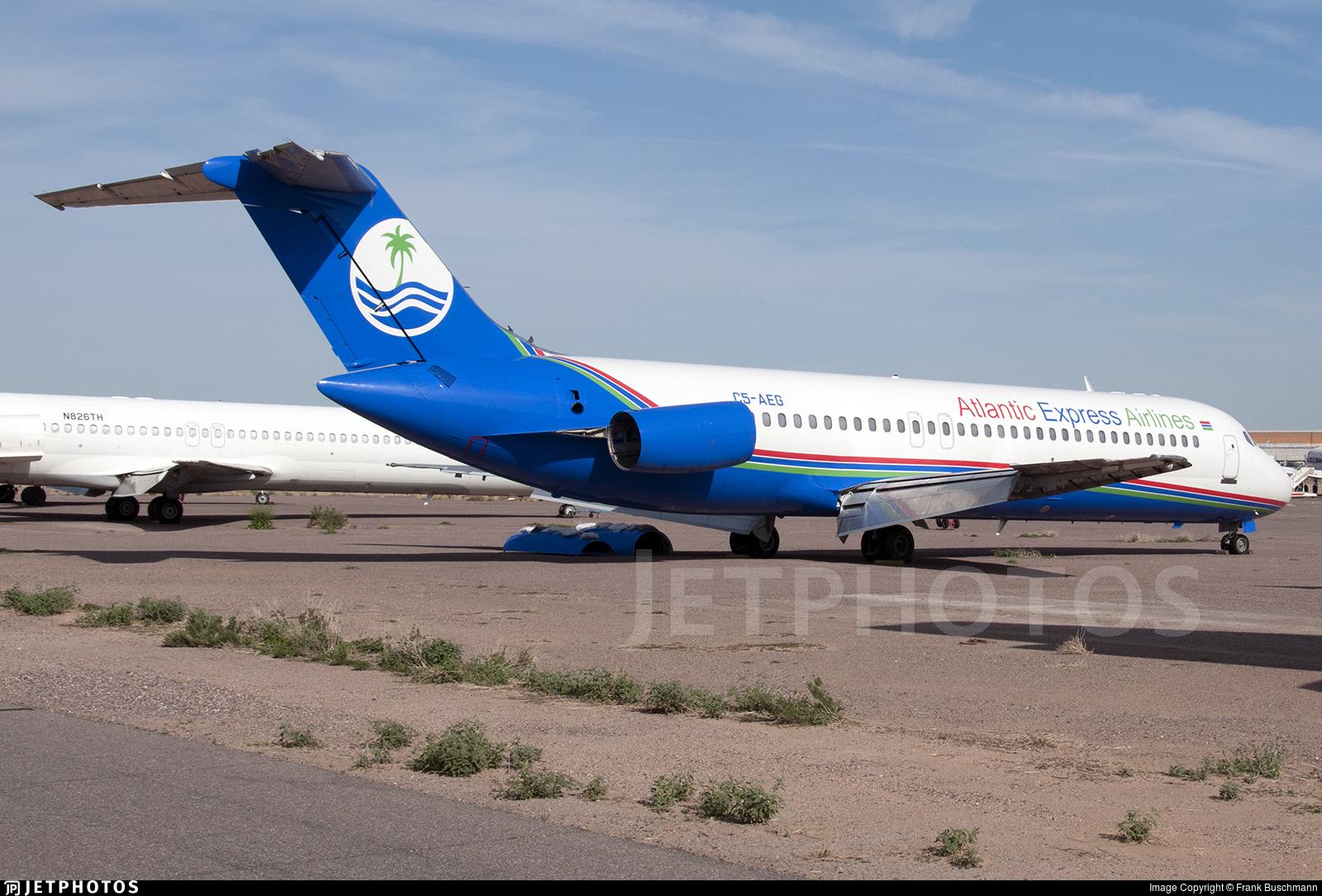 C5-AEG - McDonnell Douglas DC-9-32 - Atlantic Express Airlines