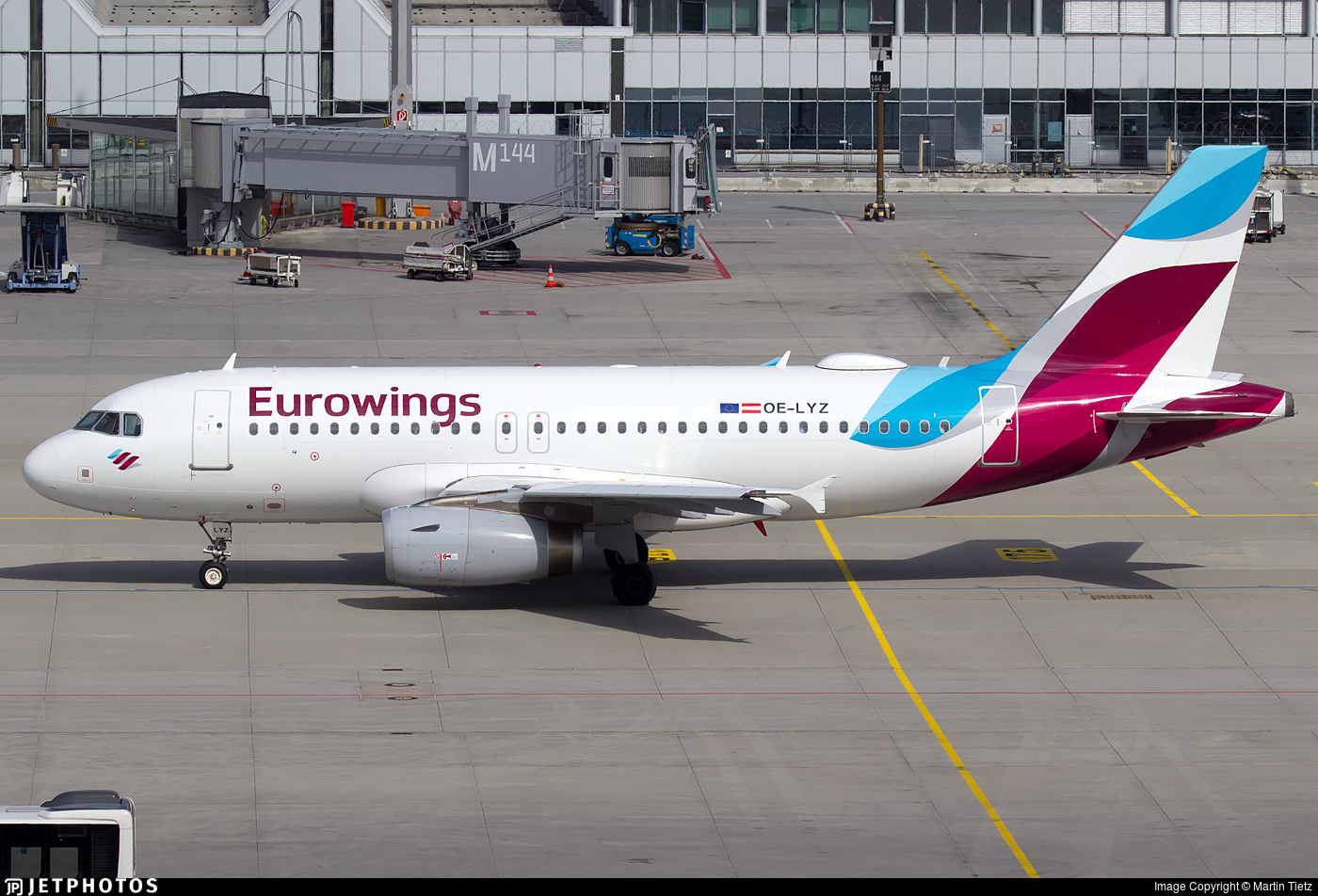 OE-LYZ - Airbus A319-132 - Eurowings Europe