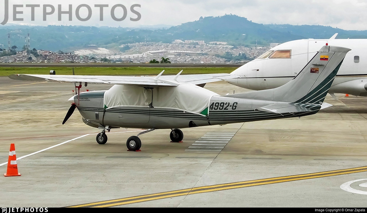 HK-4992-G - Cessna T210R Turbo Centurion II - Private
