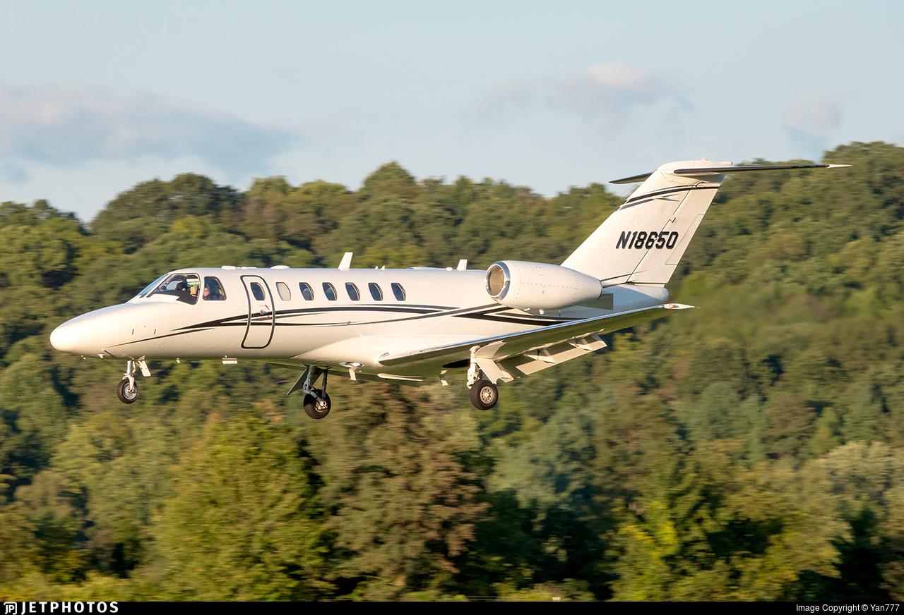 N18650 - Cessna 525 Citationjet CJ3 - Delta Private Jets