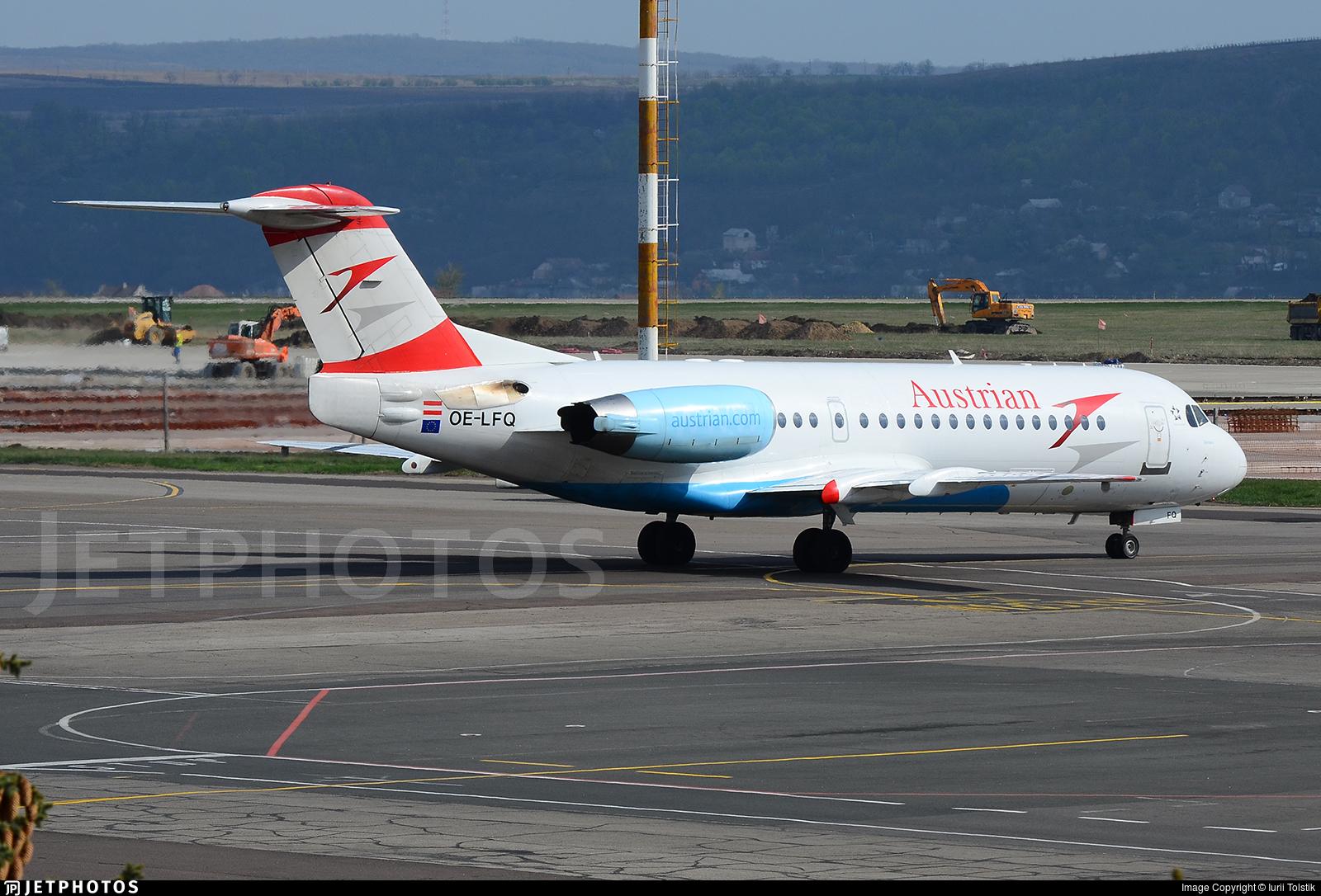 OE-LFQ - Fokker 70 - Austrian Airlines