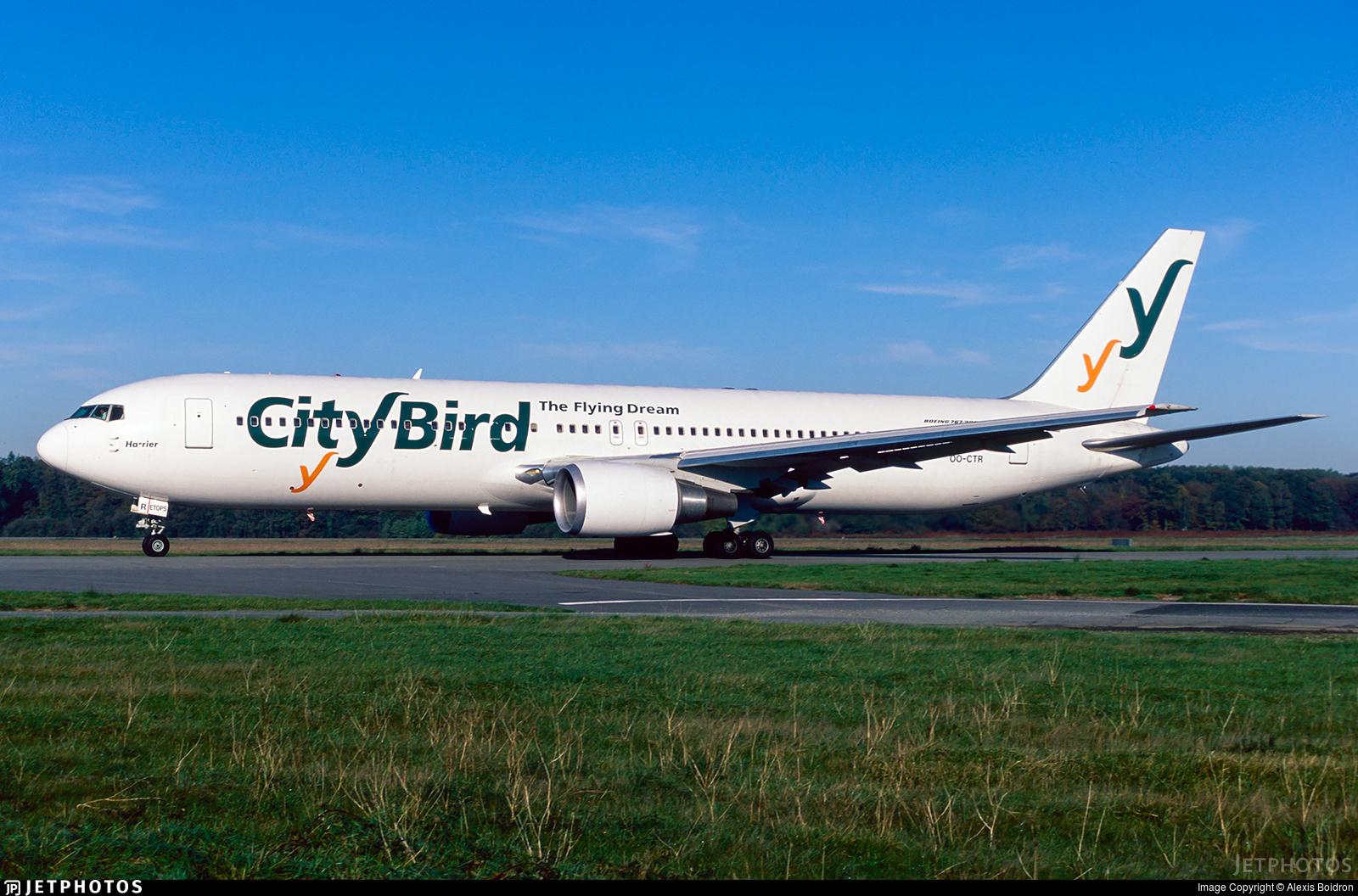 OO-CTR - Boeing 767-33A(ER) - CityBird