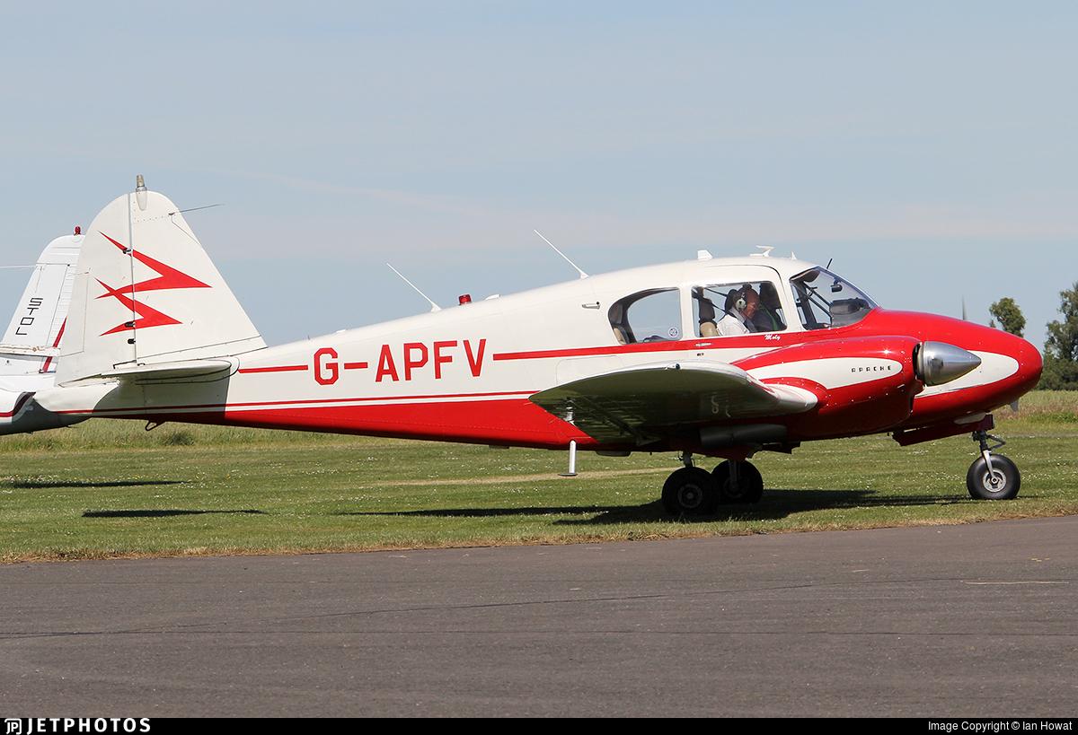 G-APFV - PA-23-160 Apache H - Private