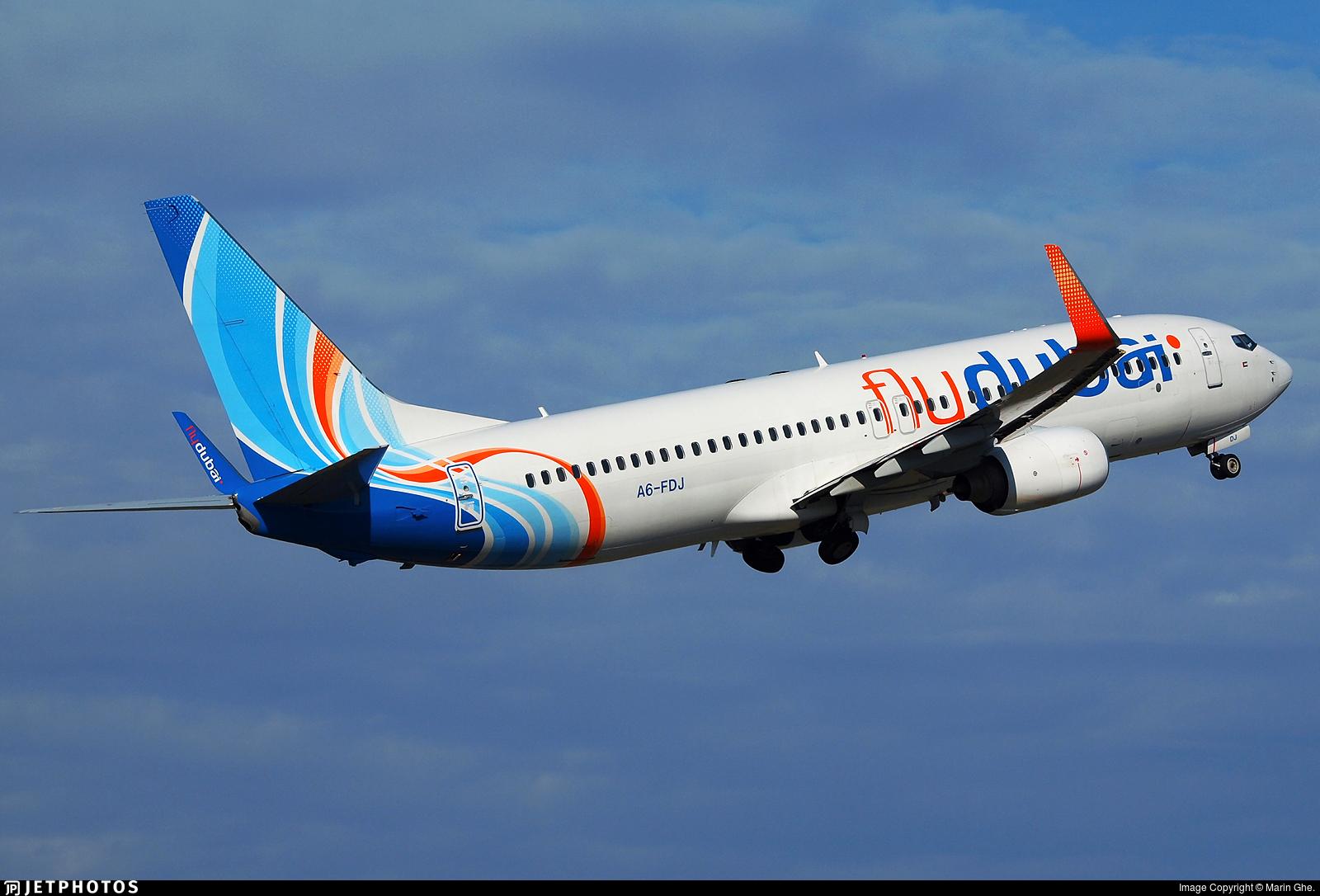 A6-FDJ - Boeing 737-8KN - flydubai