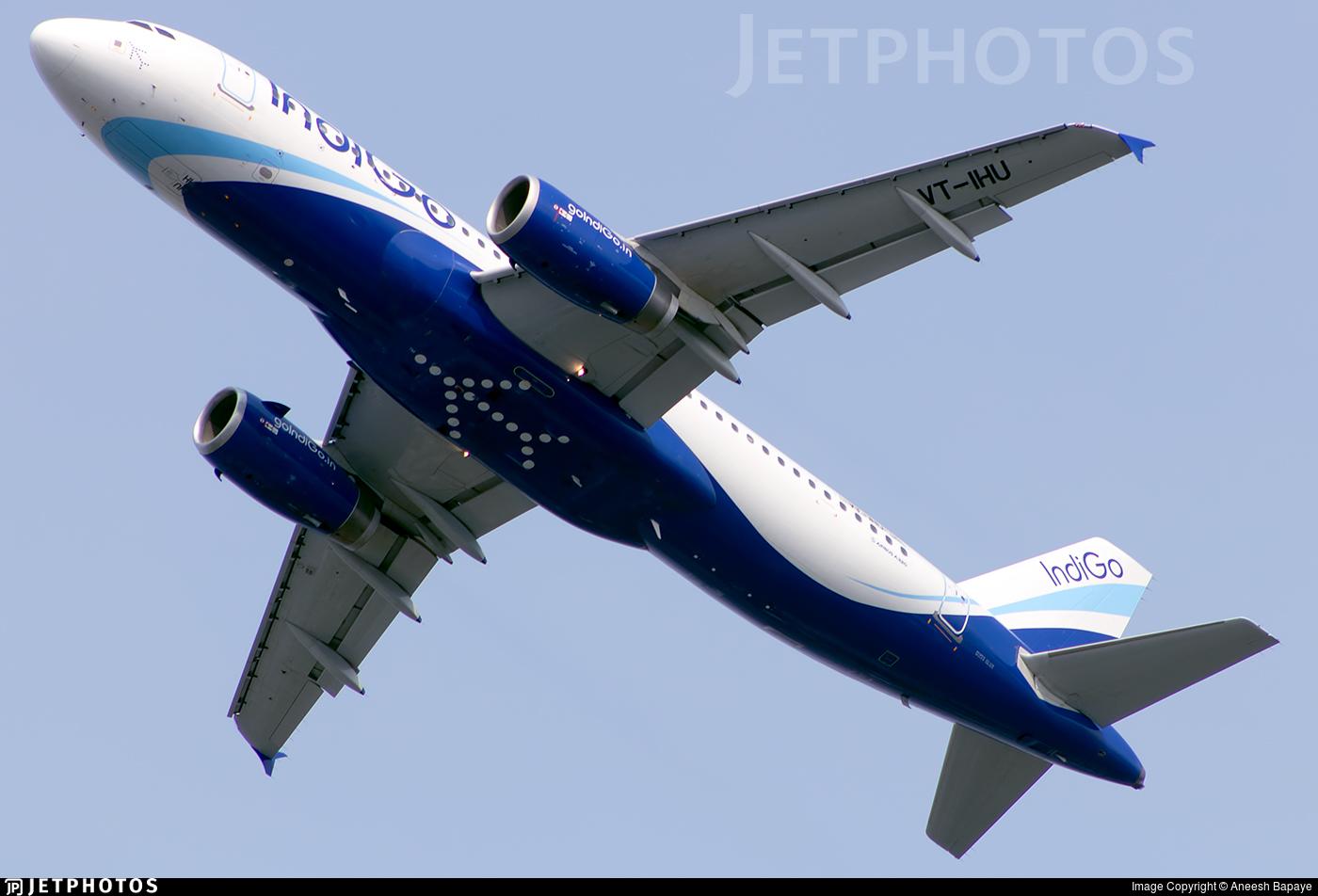 VT-IHU - Airbus A320-232 - IndiGo Airlines